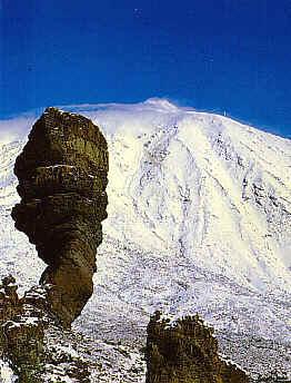 cosas de mi tierra Teide-nevado